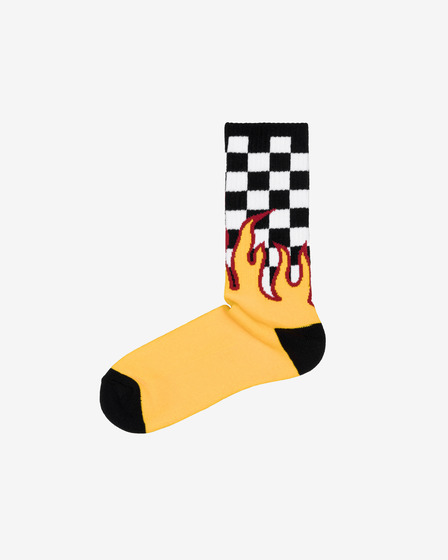 Vans Flame Check Socks
