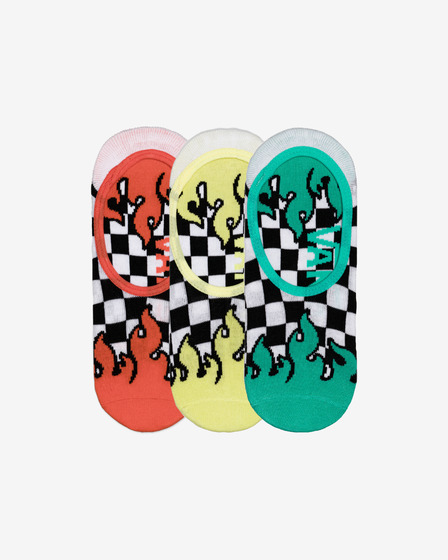 Vans Lightit Set of 3 pairs of socks