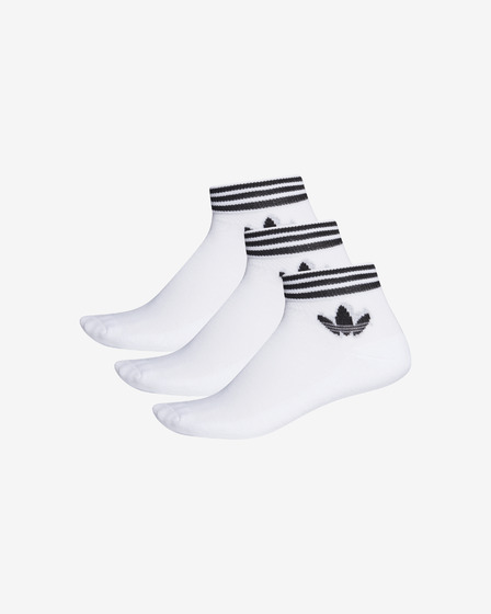 adidas Originals Trefoil Ankle Set of 3 pairs of socks