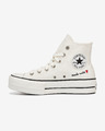 Converse Valentine's Day Platform Chuck Taylor Sneakers