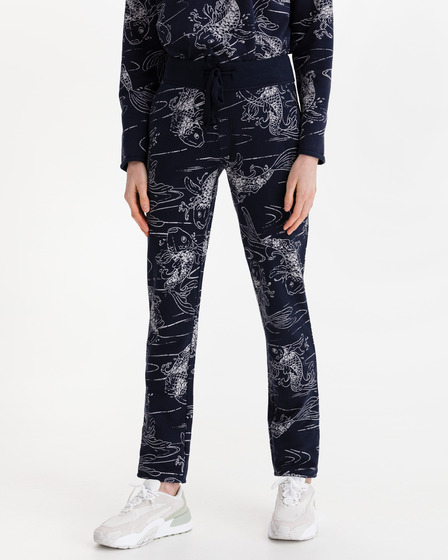 JUVIA Turn-Up Kois Fleece Sweatpants