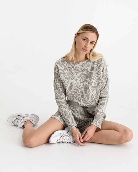 JUVIA Devoré Jungle Sweatshirt