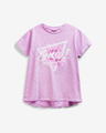 Guess Glitter Logo Kids T-shirt