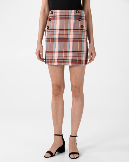 Tommy Hilfiger Blend Check Mini Skirt