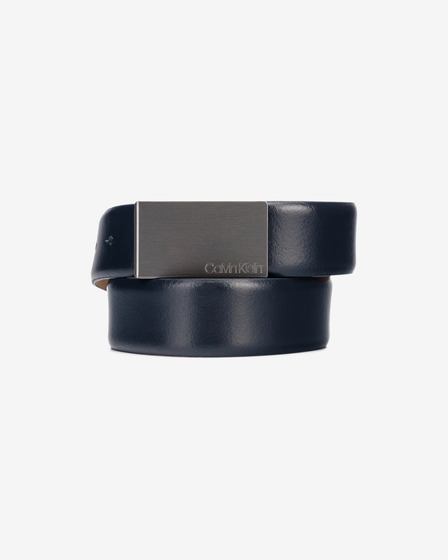 Calvin Klein Metal Plaque Belt
