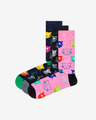 Happy Socks Cat Gift Box Set of 3 pairs of socks